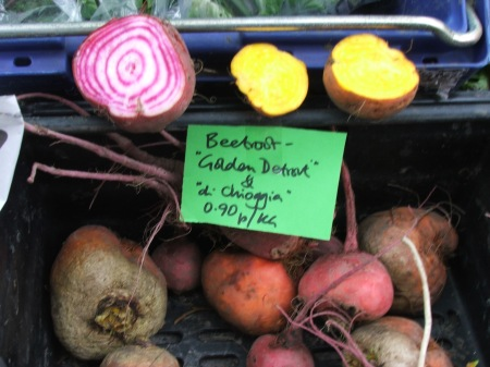 beets of many colours