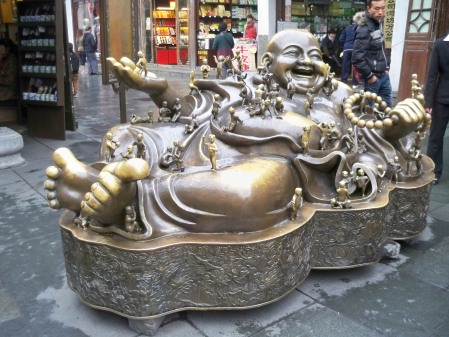 Brass Bhudda