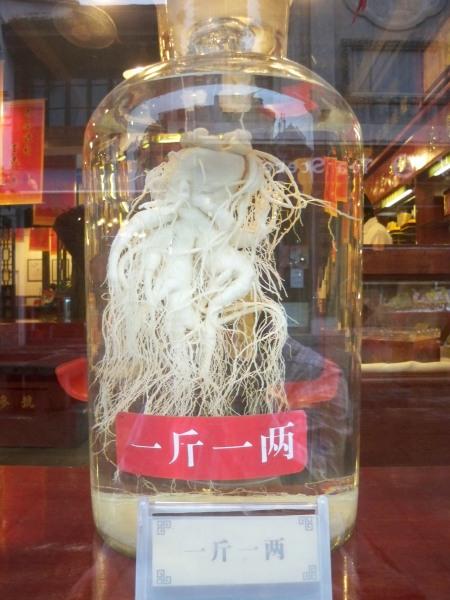 Ginseng shop