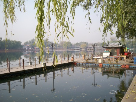 Qinhai Lake dock