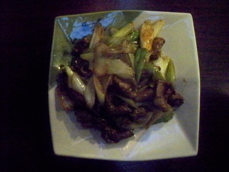 Stir-fried Duck Liver with Spring Onions
