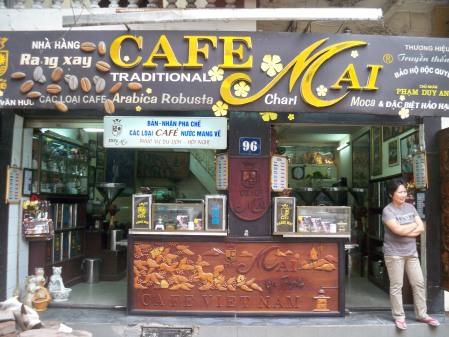 Cafe Mai storefront