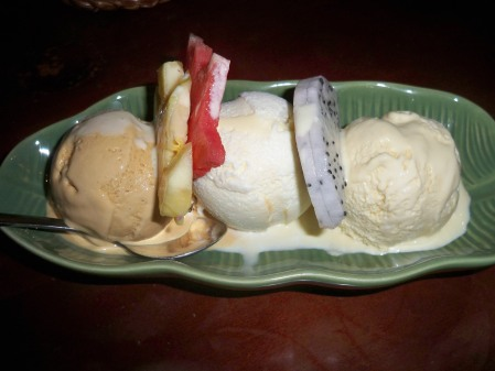 Lemon grass icecream