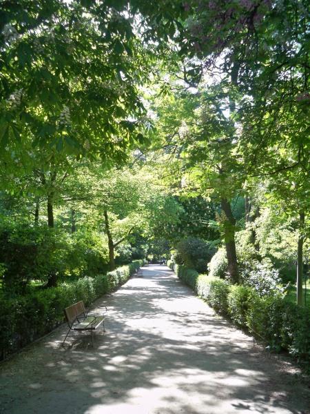 El Retiro path