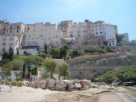 Sperlonga from the beach