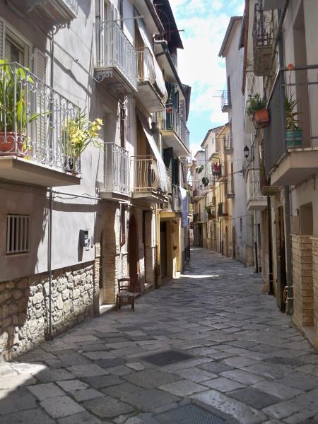 Street in Fondi