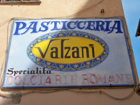 Valzani sign