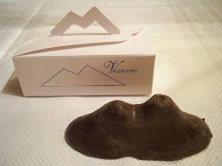 Chocolate  vesuvius