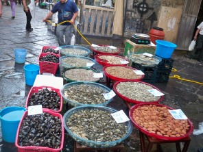 Clam stall
