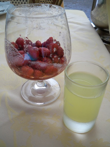 Fragolini and Limoncello