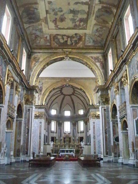 Inside San Paolo Maggiore
