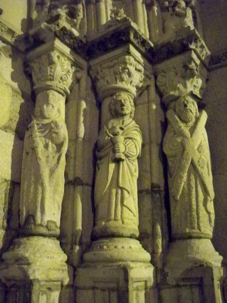 Capela das Malheiras carvings