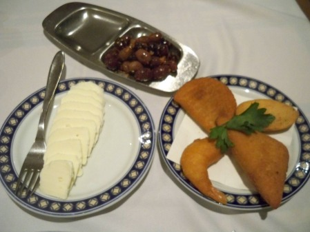 Cheese and croquettes