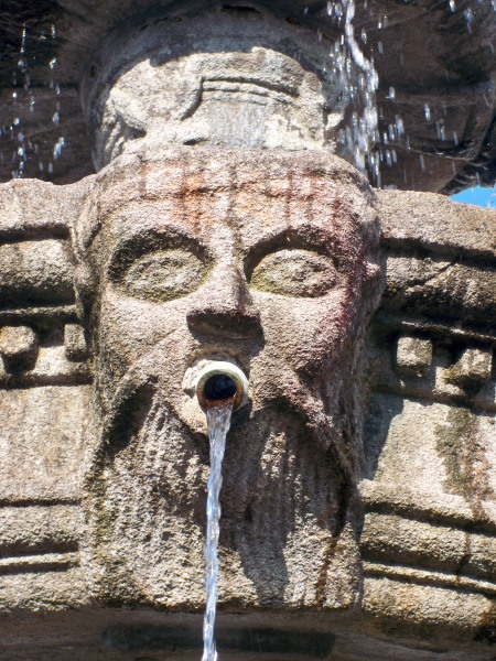 Fountain detail