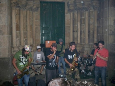 Ska at the church