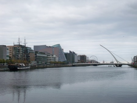 Liffey to the Harp Bridge