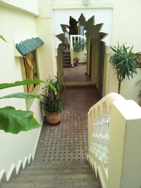 Riad interior