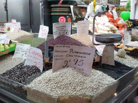 Bean stall