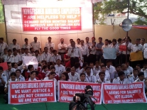 Kingfisher Airlines on strike