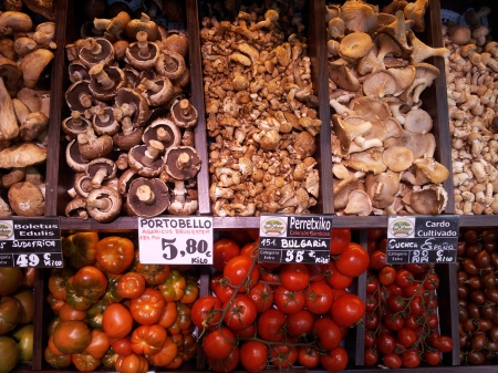 Mushrooms & Tomatoes